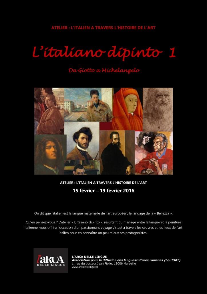 italiano dipinto I -1
