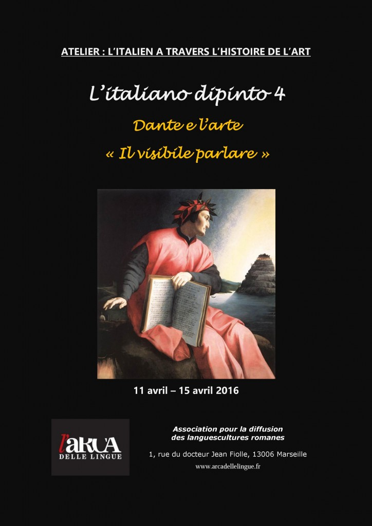 italiano dipinto IV- Dante-arte-purgatorio